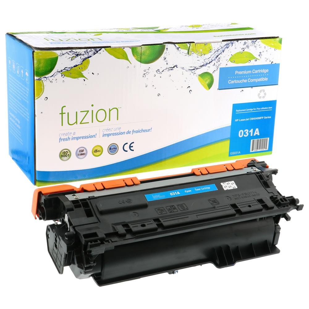 FUZION - HP Colour LaserJet CM 4540MFP - Cyan