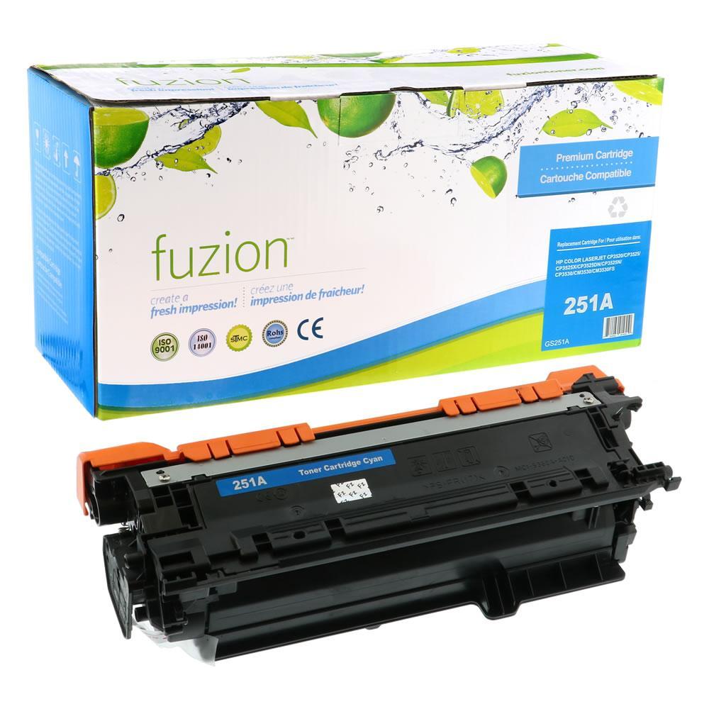 FUZION - HP CE251A (504A) - Cyan