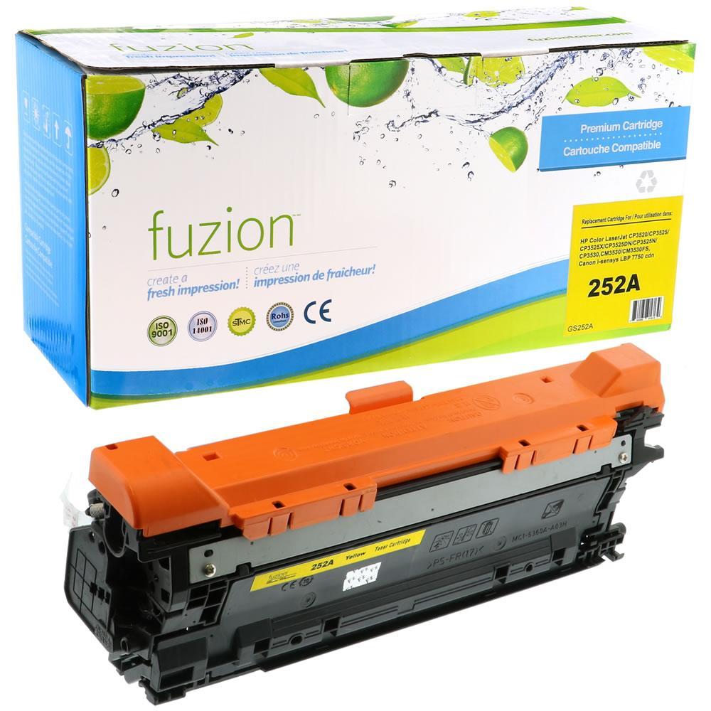 FUZION - HP CE252A (504A) - Yellow