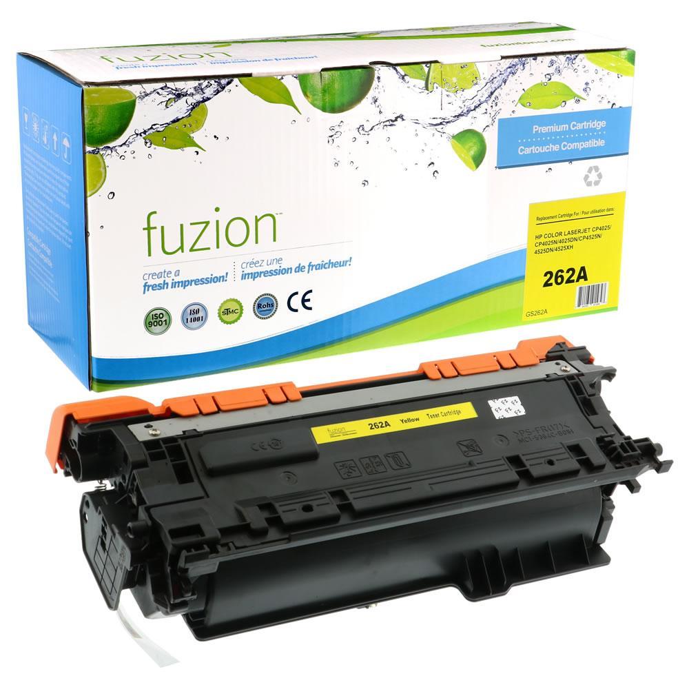 FUZION - HP CE262A - Yellow