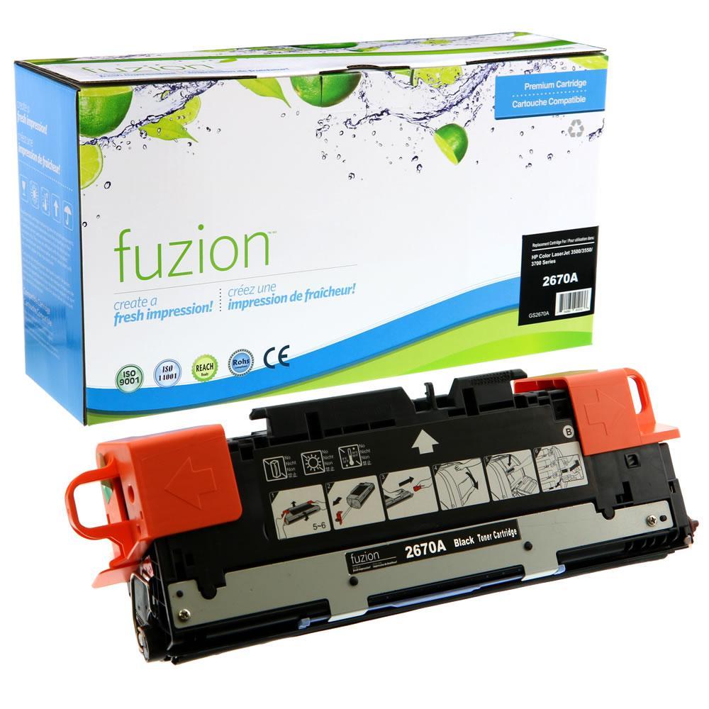 FUZION - HP Colour Laserjet 3500/3700 - Black
