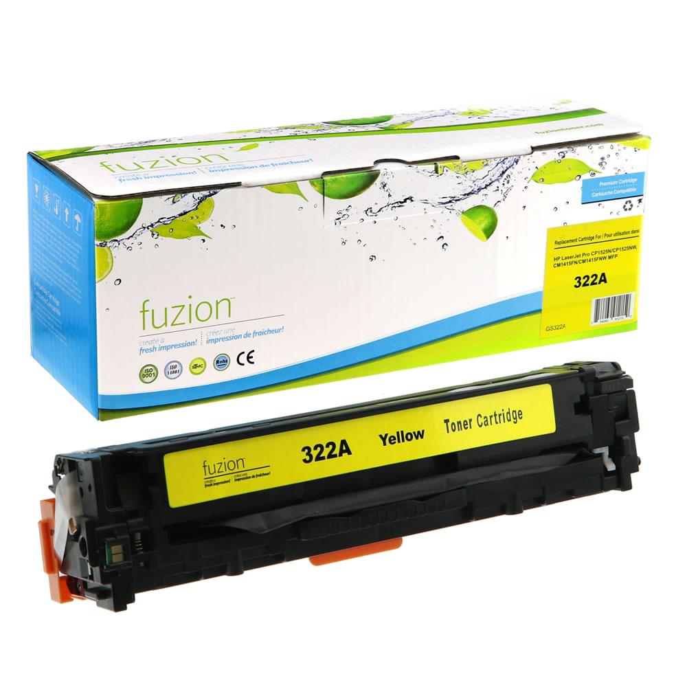 FUZION - HP Colour Laserjet CP1525 Toner - Yellow