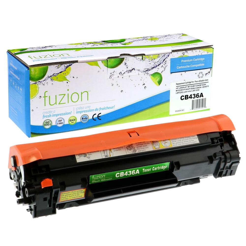 FUZION - HP CB436A - Black