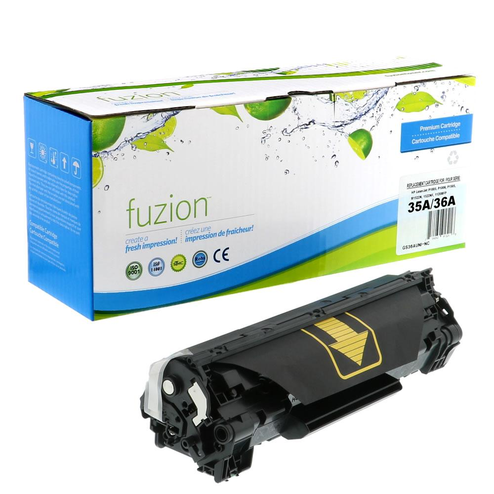FUZION - HP CB435A/CB436A Universal - Black