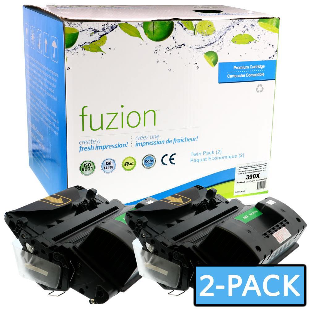 FUZION - HP CE390X Twin Pack - Black