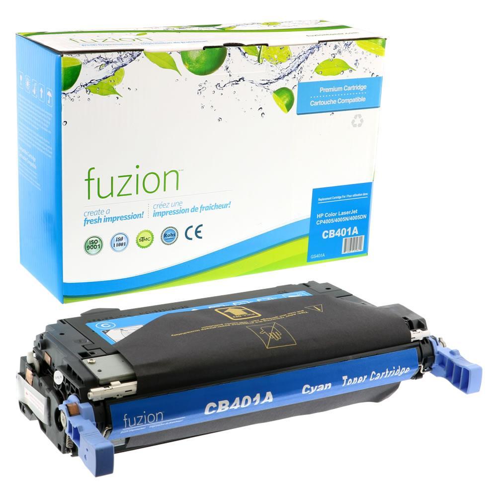FUZION - HP Colour Laserjet CP4005N Toner - Cyan