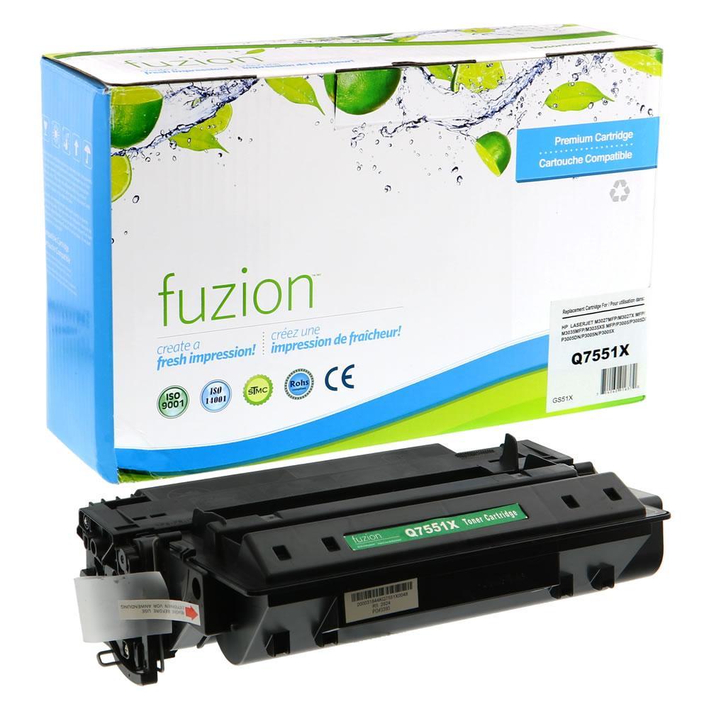 FUZION - HP Laserjet P3005 High Yield - Black