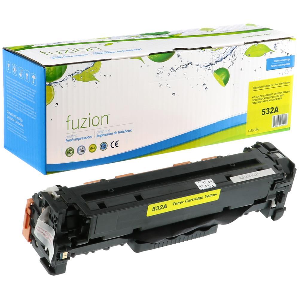 FUZION - HP Colour CC532A - Yellow
