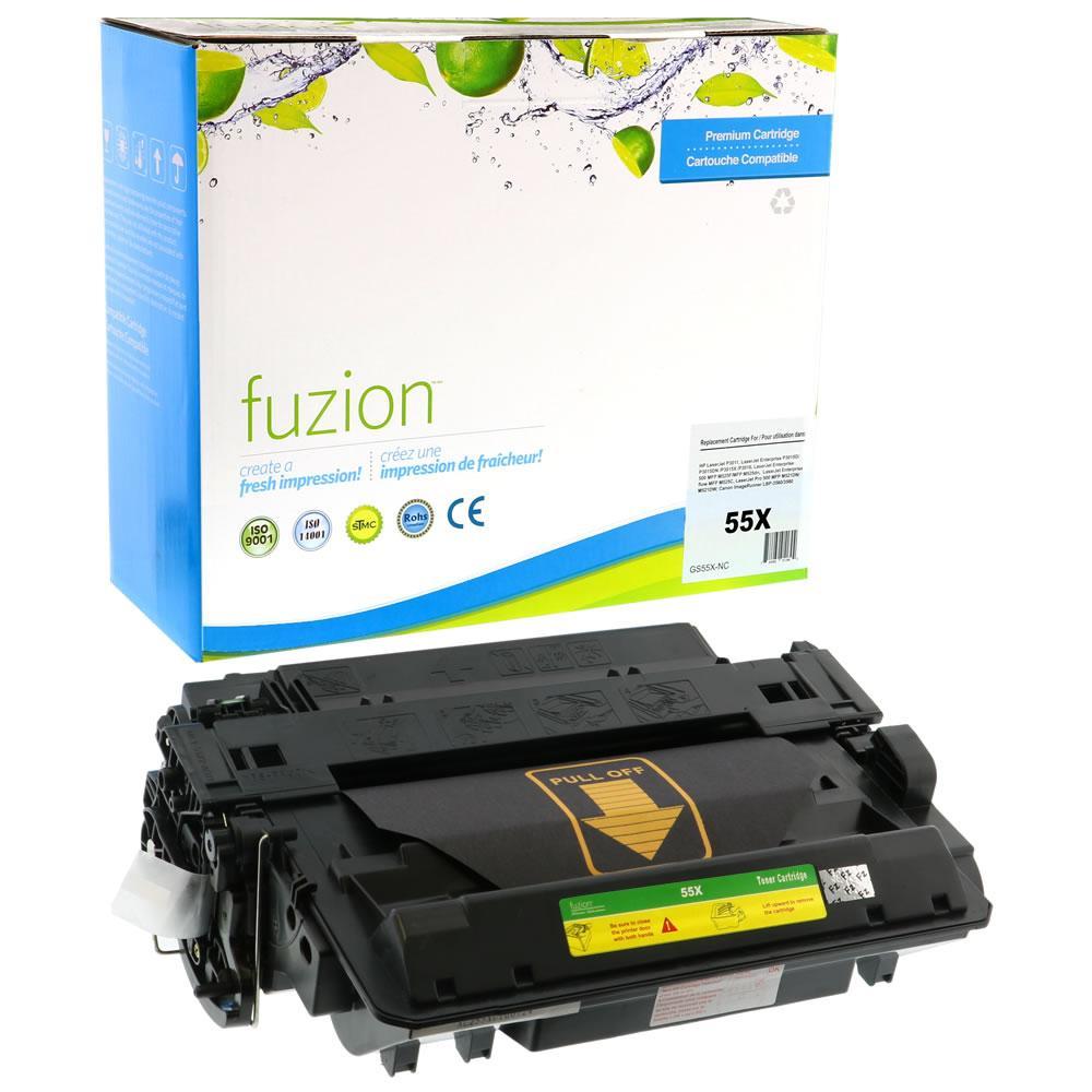 FUZION - HP CE255X High Yield - Black