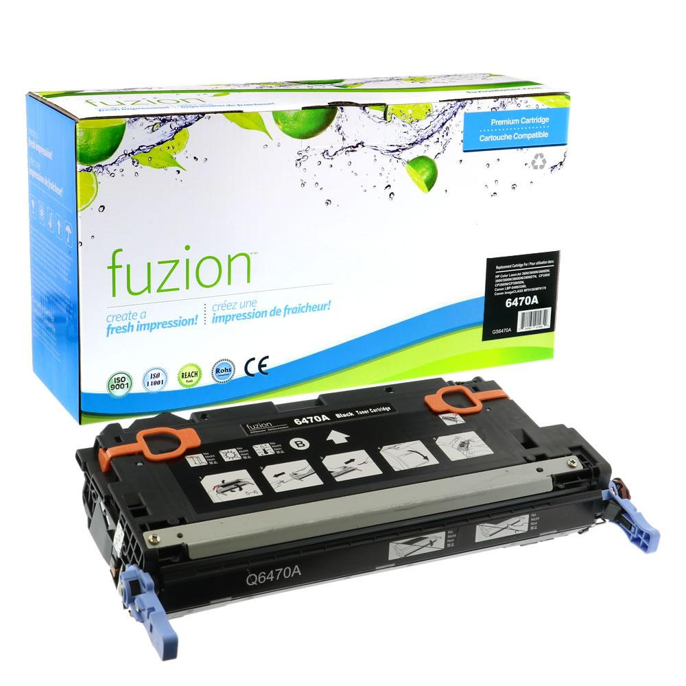 FUZION - HP Colour Q6470A - Black