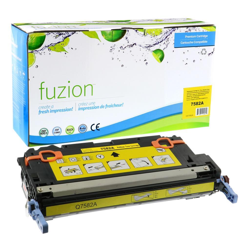 FUZION - HP Colour Q7582A - Yellow