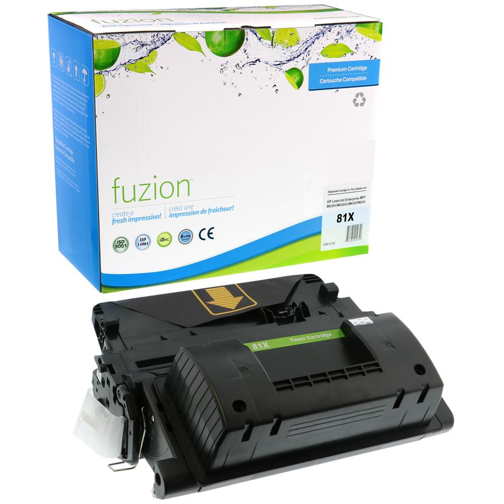 FUZION - HP CF281X High Yield - Black