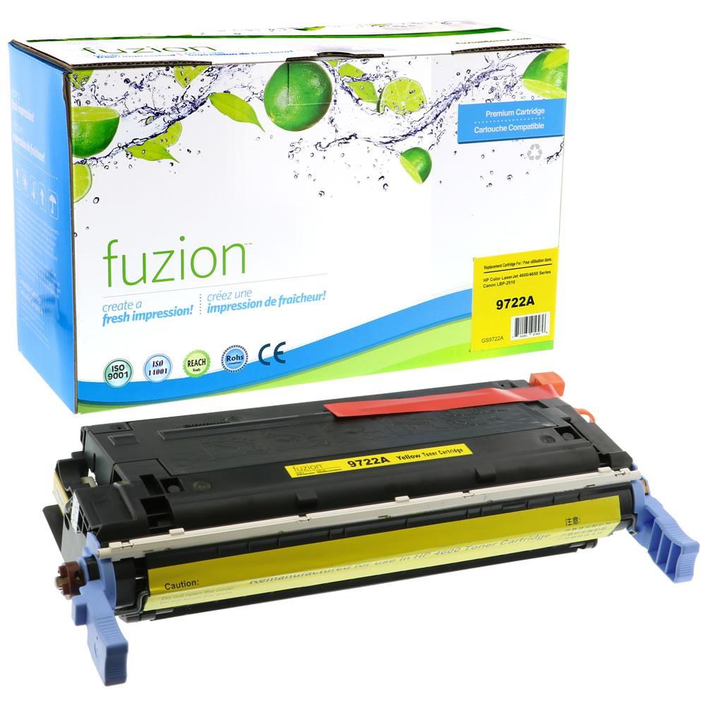 FUZION - HP Colour Q9722A -Yellow