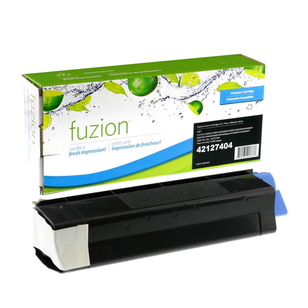 FUZION - Okidata C5100 Toner - Black