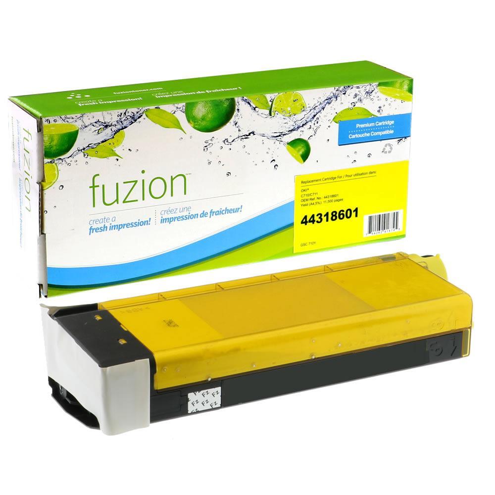 Jolek alternative product for Okidata 43266101 Remanufactured Toner - Yellow