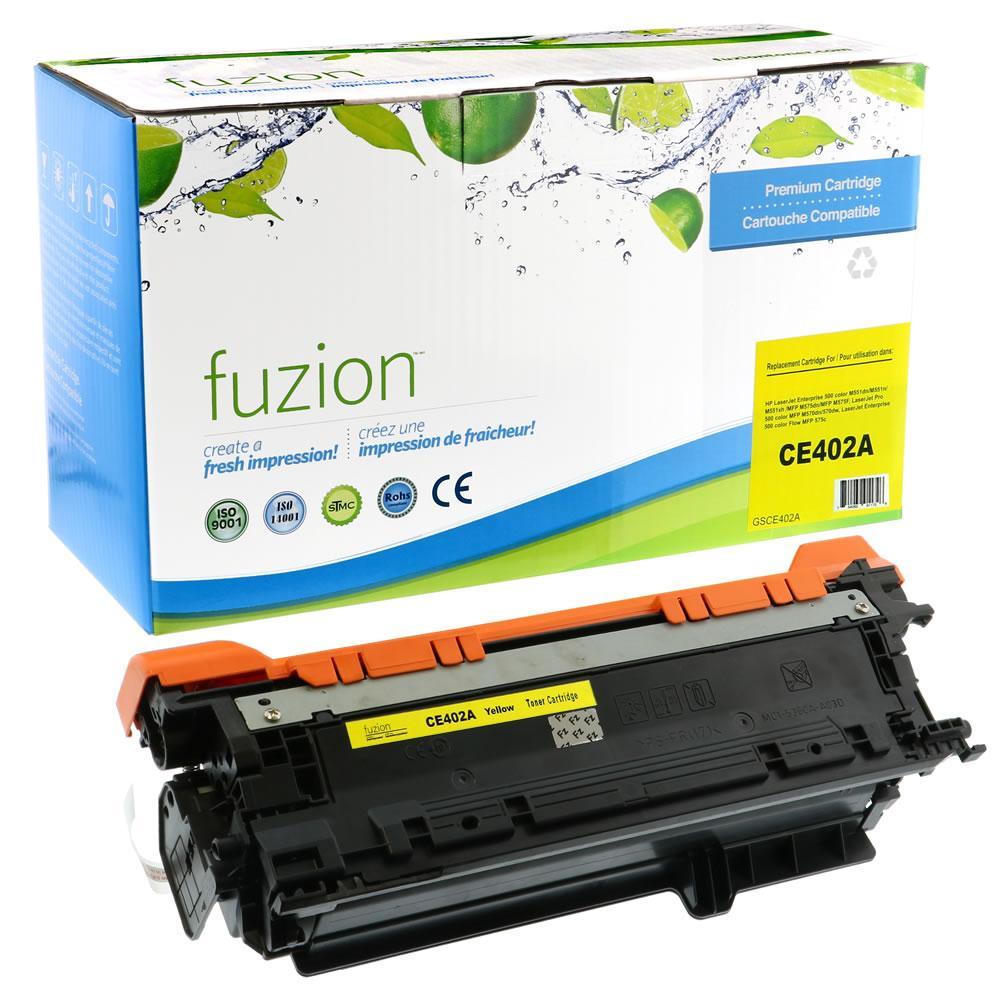 FUZION - HP Enterprise 500 Colour M551 - Yellow