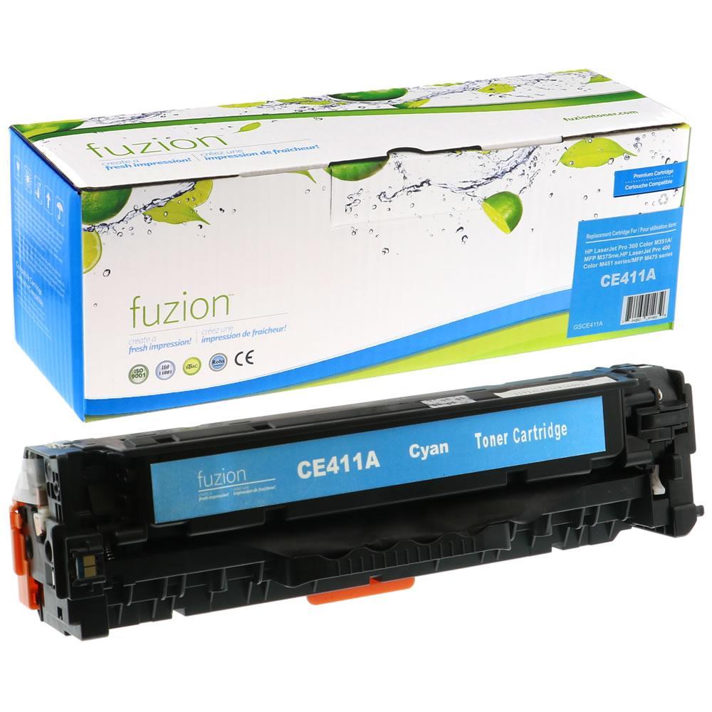 FUZION - HP LaserJet Pro 300/400 - Cyan