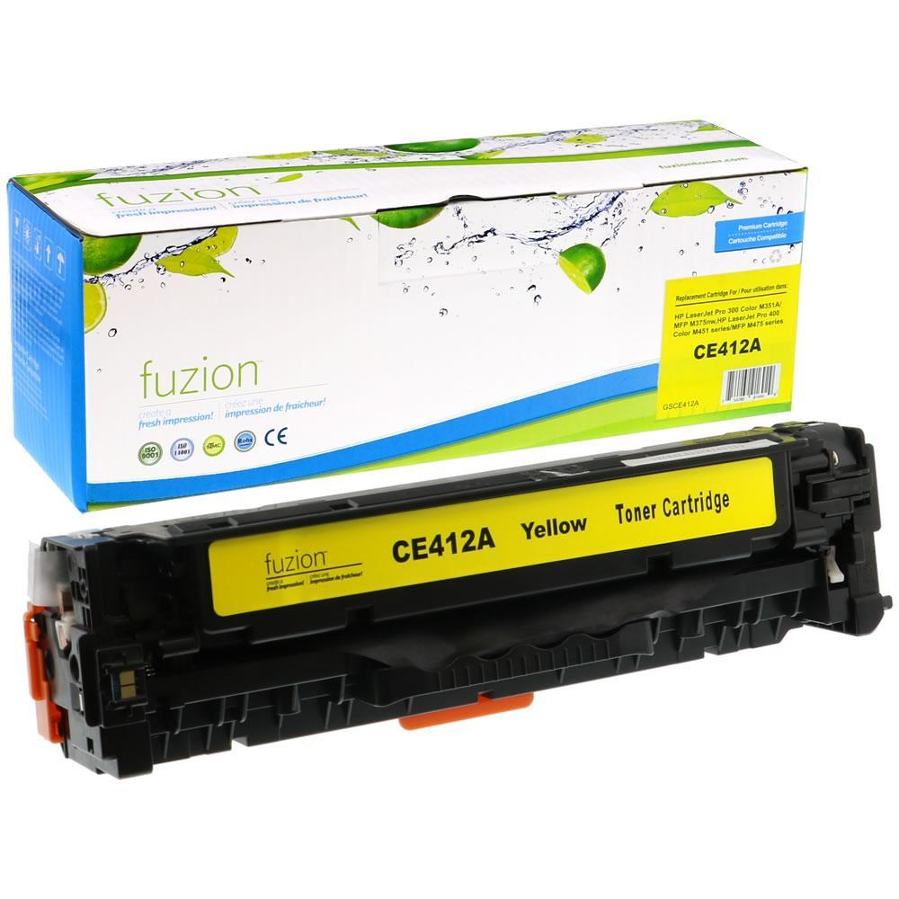 FUZION - HP LaserJet Pro 300/400 - Yellow