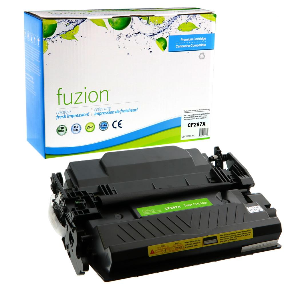 FUZION - HP CF287X High Yield - Black
