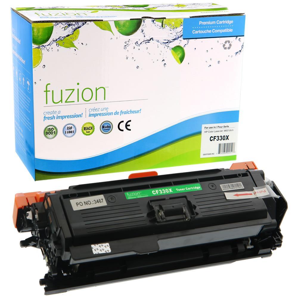 FUZION - HP CF330X (654X) - Black