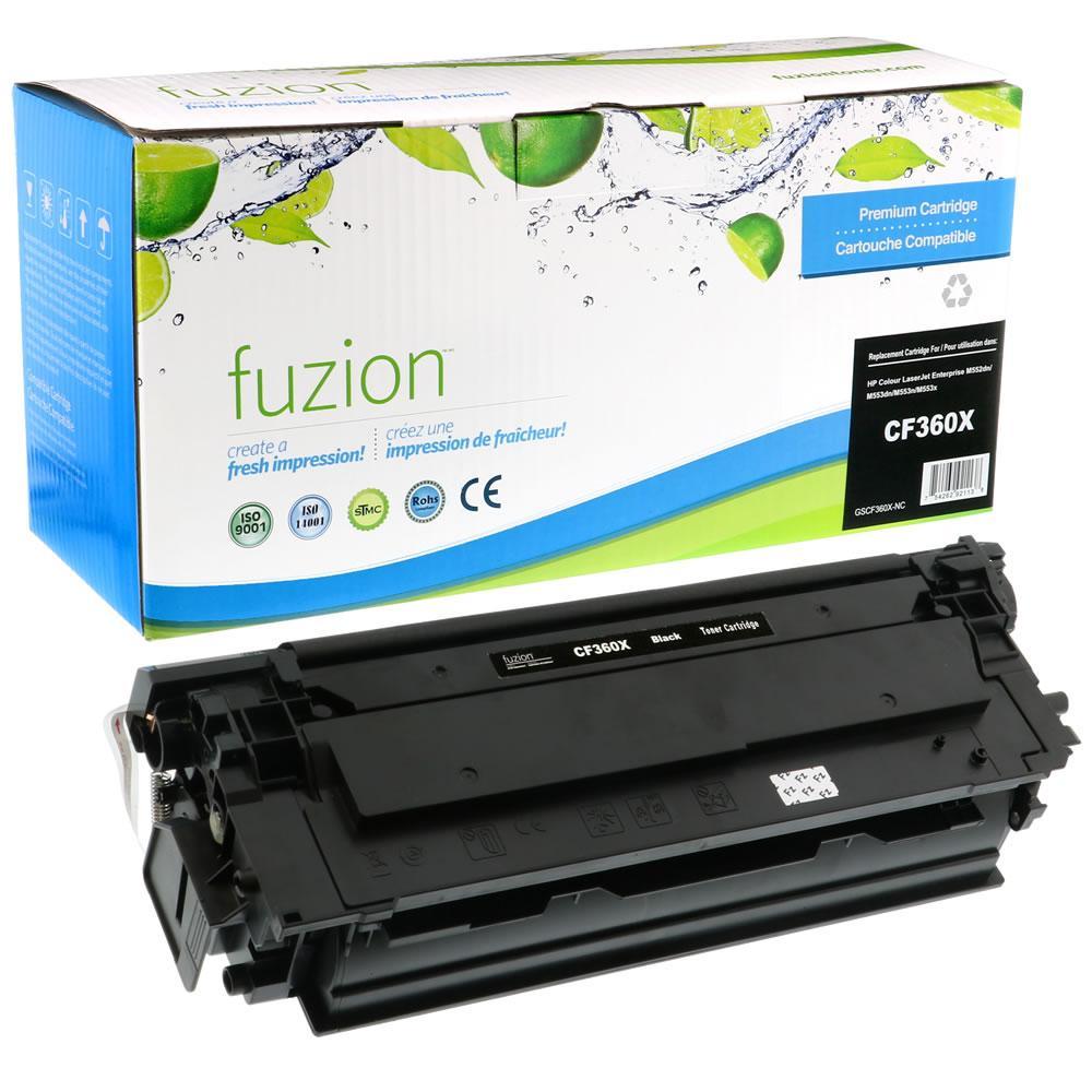 FUZION - HP Colour CF360X HY Toner - Black