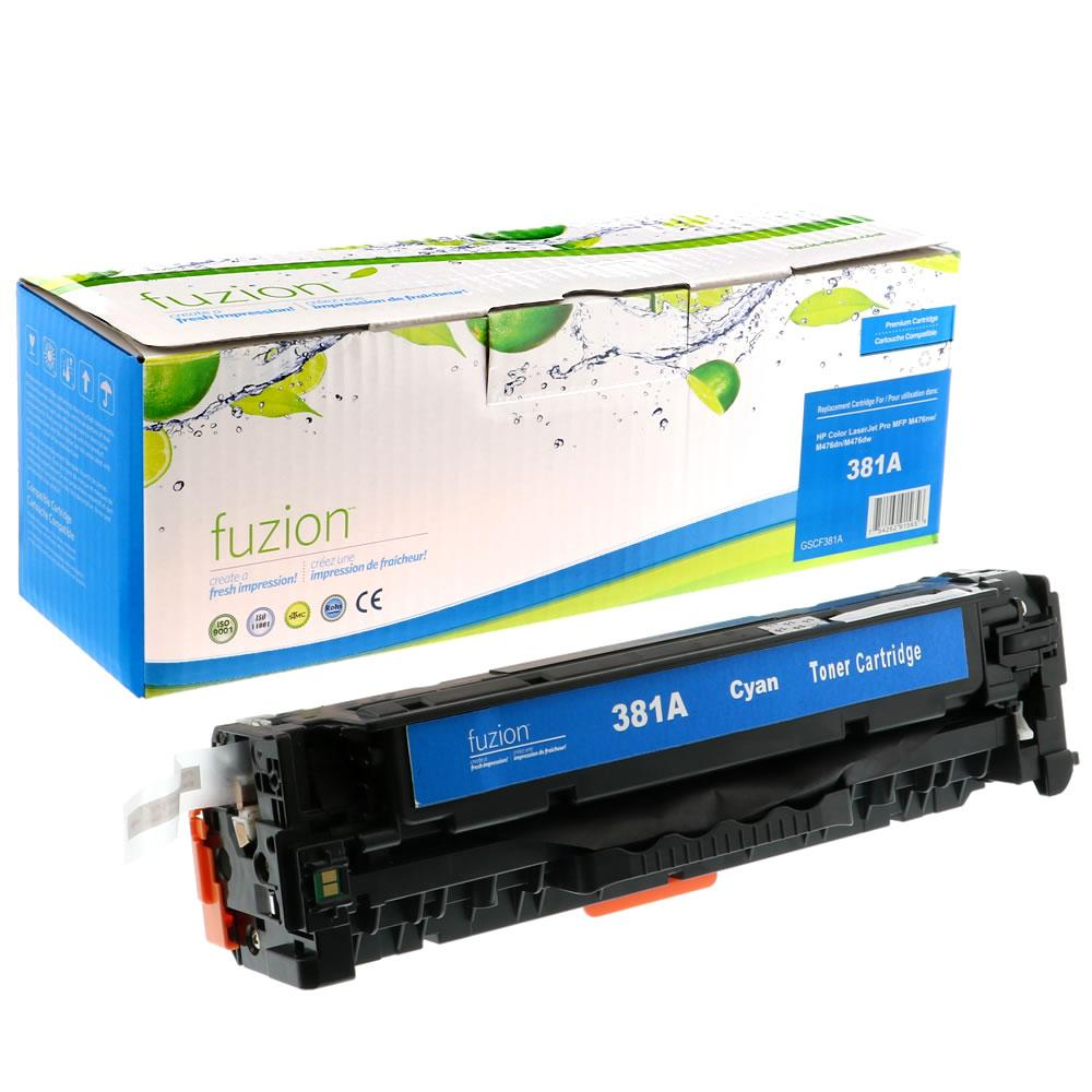 FUZION - HP LaserJet Pro M476dn - Cyan