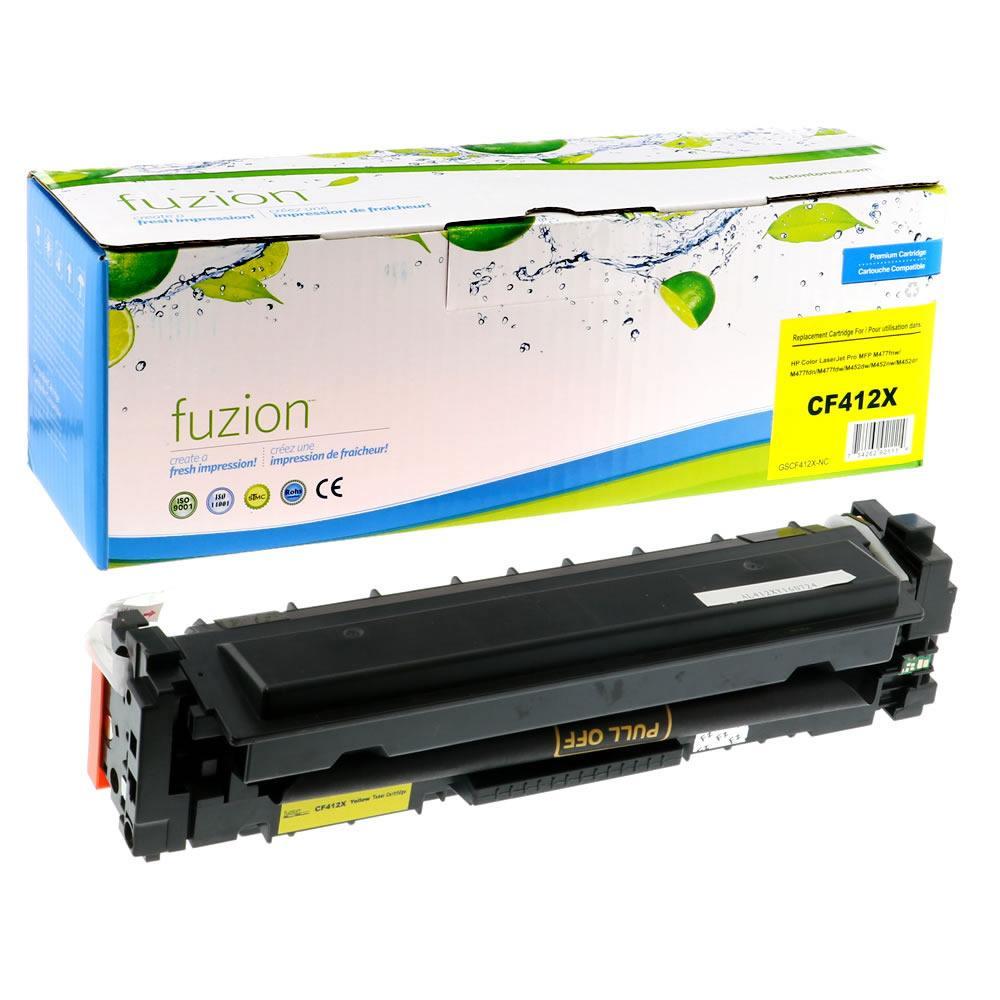 FUZION - HP LaserJet Pro M452DN HY Toner - Yellow