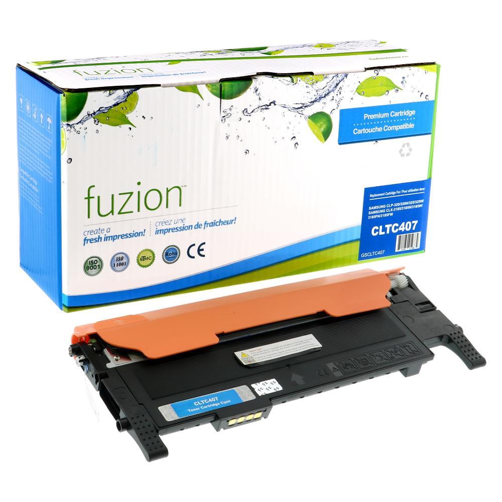 FUZION - Samsung CLP320 - Cyan
