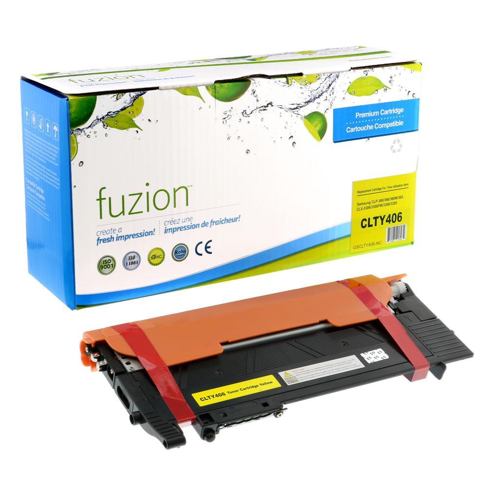 FUZION - Samsung CLP365 - Yellow