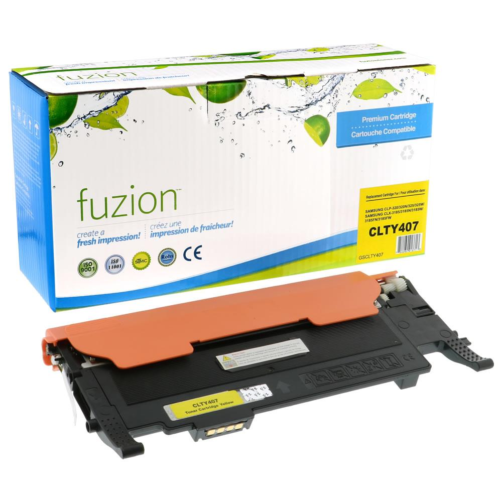 FUZION - Samsung CLP320 - Yellow