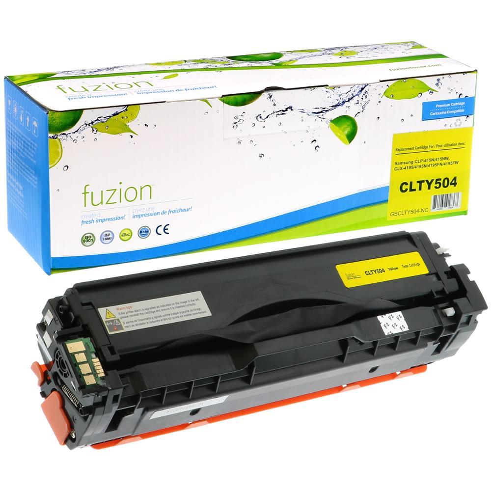 FUZION - Samsung CLP415/CLX4195FN - Yellow