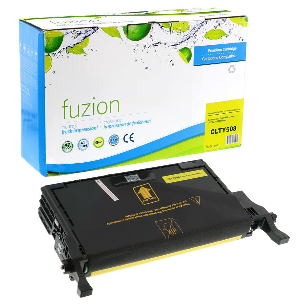 FUZION - Samsung CLP620/CLX6250 - Yellow