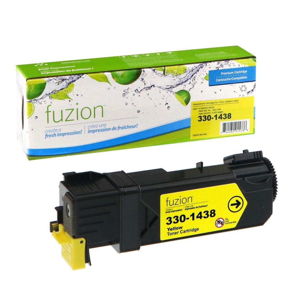 FUZION - Dell 2130cn - Yellow
