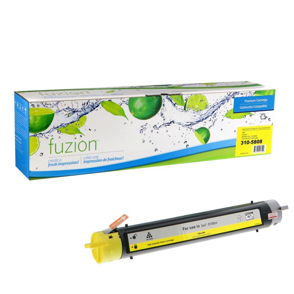 FUZION - Dell 5100CN Toner - Yellow