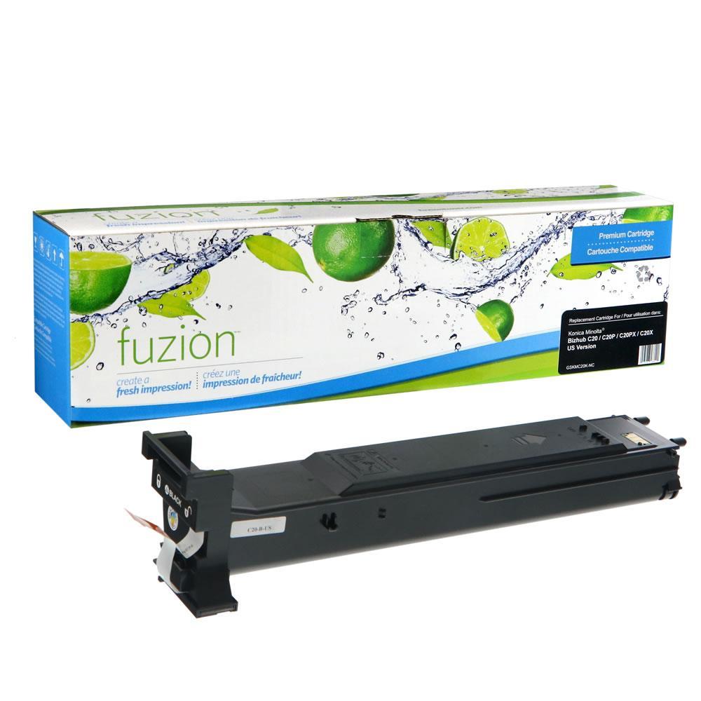 FUZION - KM Bizhub C20 Toner - Black