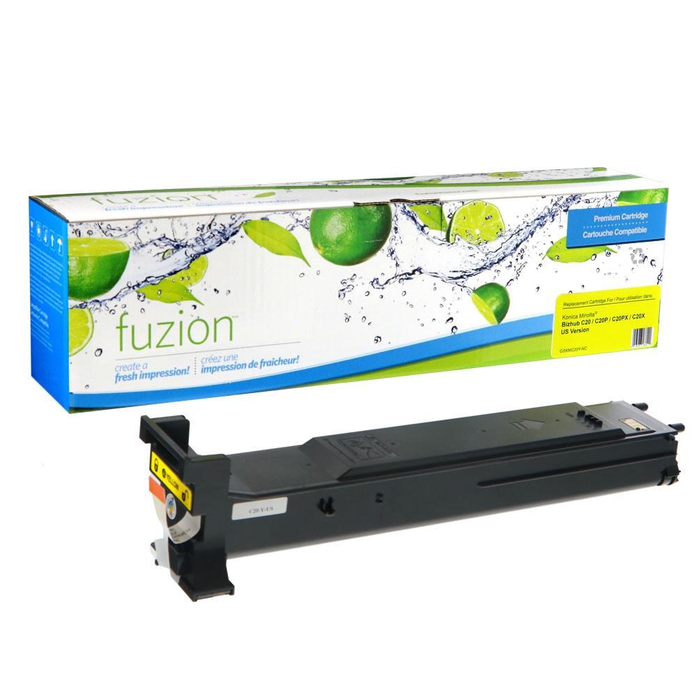 FUZION - KM Bizhub C20 Toner - Yellow