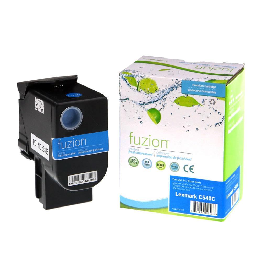 FUZION - Lexmark C540 Toner Cartridge - Cyan