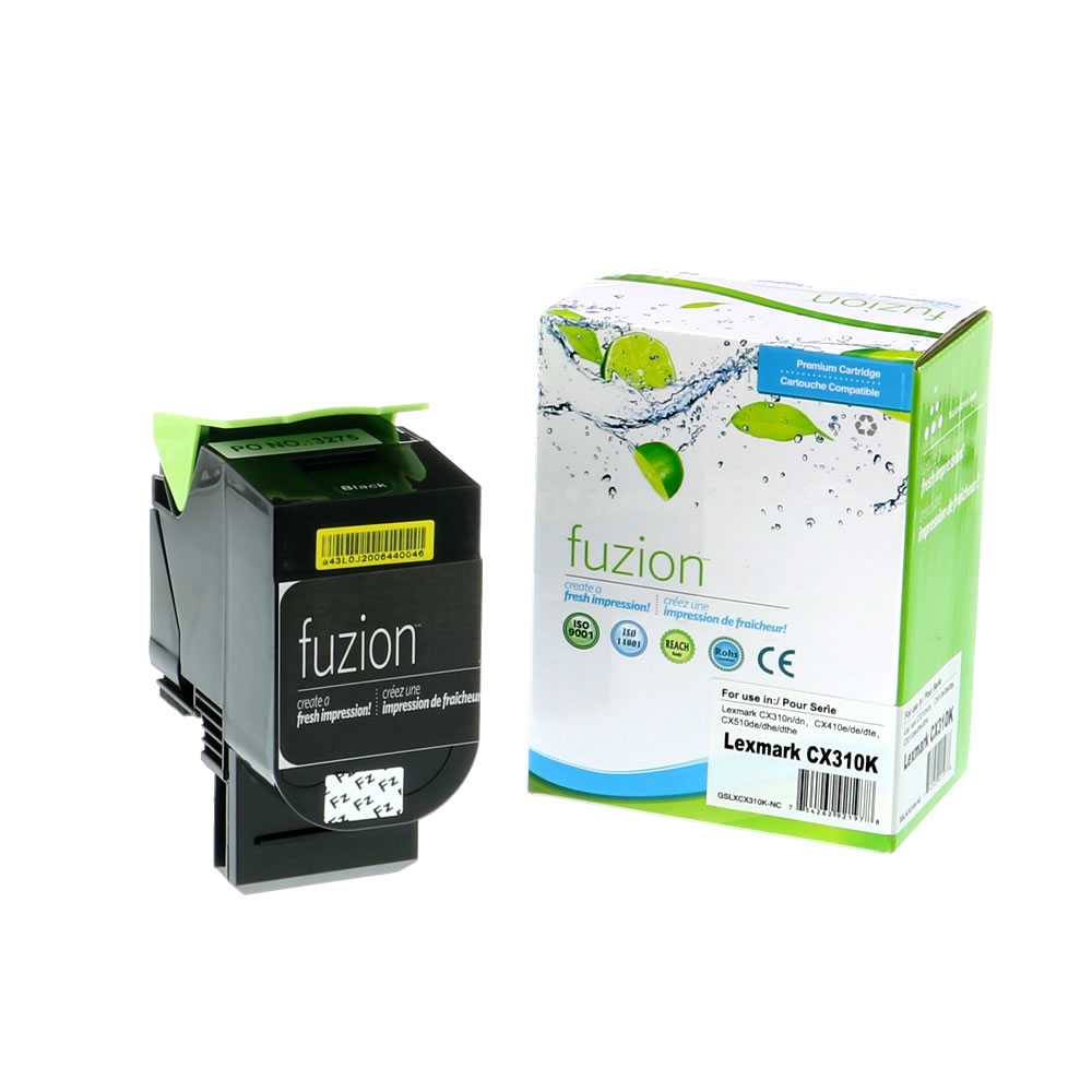 FUZION - Lexmark 80C01SK0 - Black
