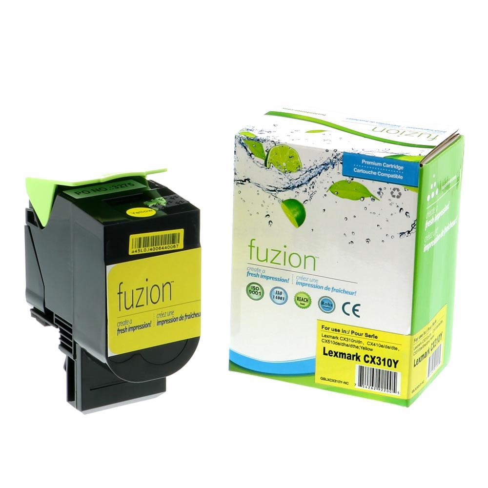 FUZION - Lexmark 80C1SY0 - Yellow