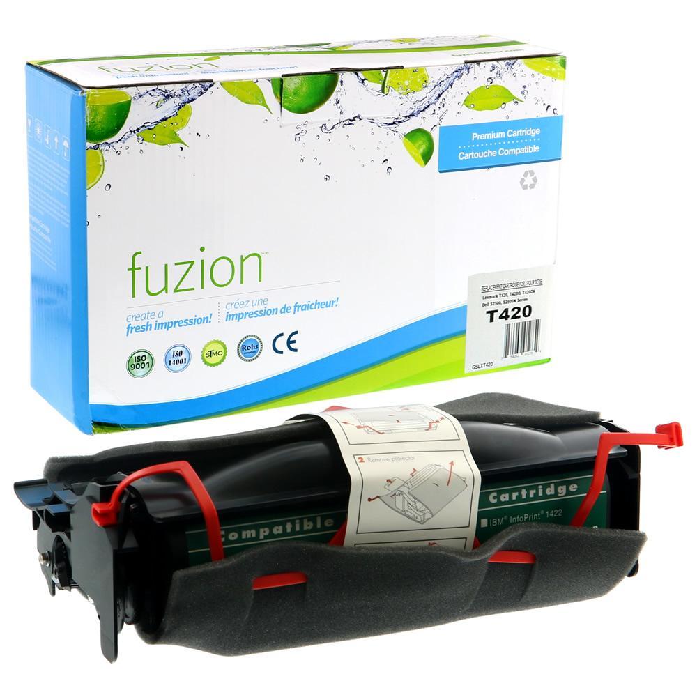 FUZION - Lexmark T420 Toner - Black