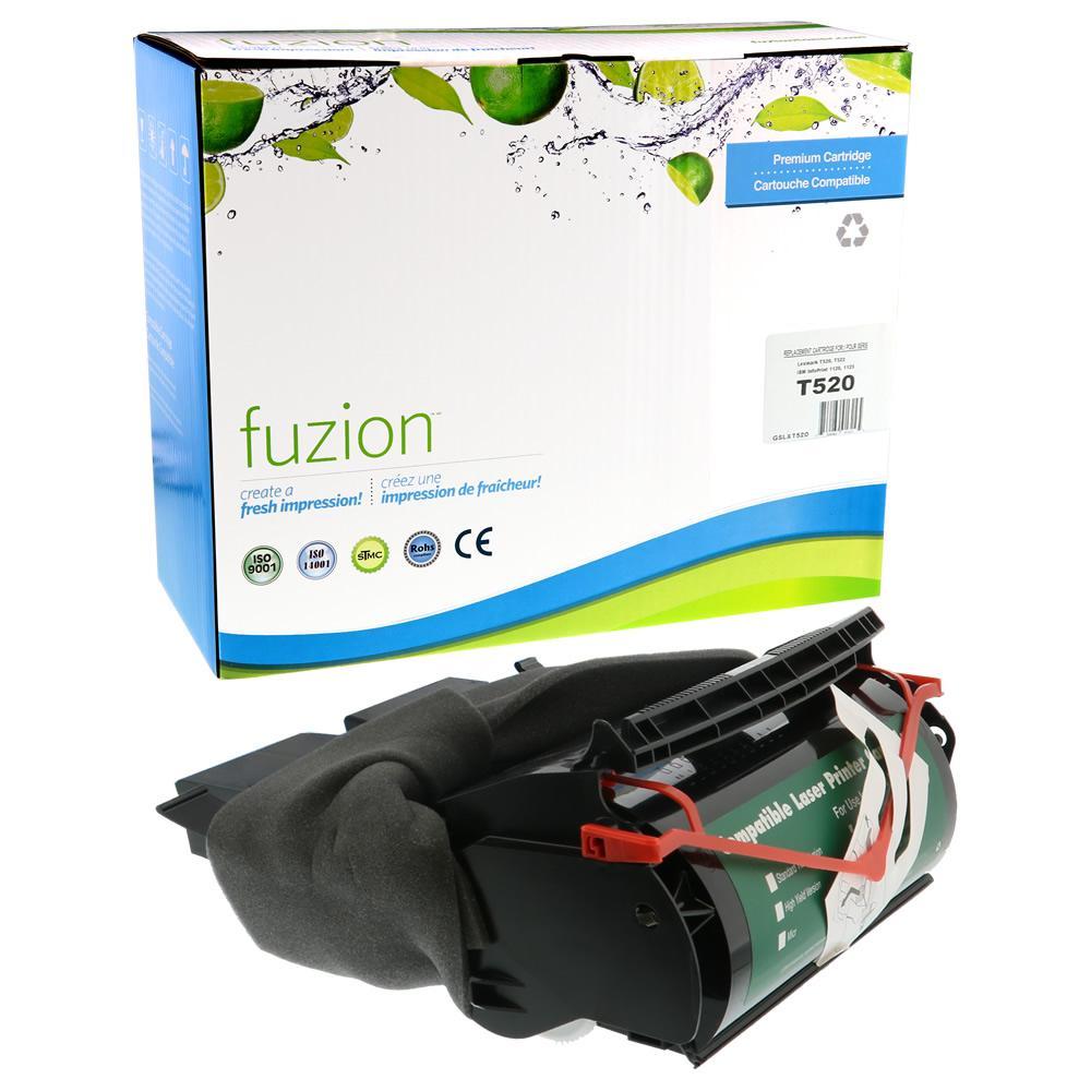 FUZION - Lexmark T520 Toner - Black