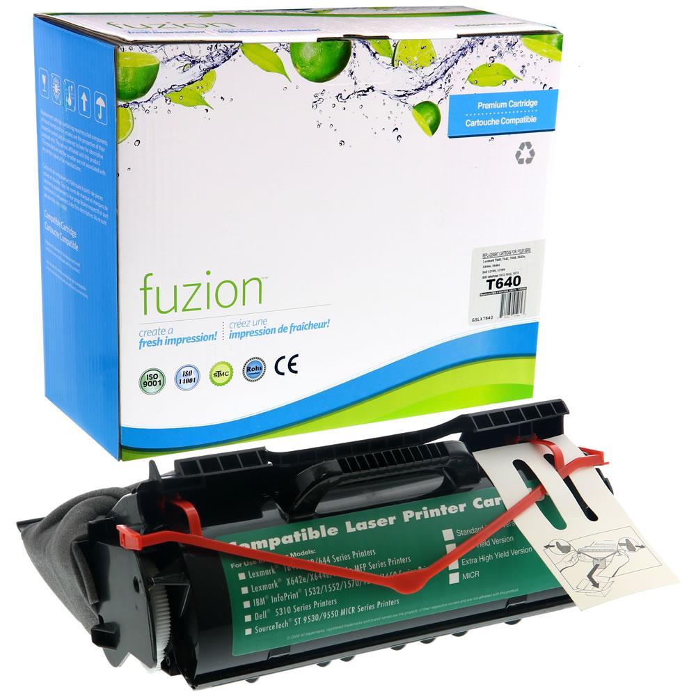 FUZION - Lexmark T640 - Black