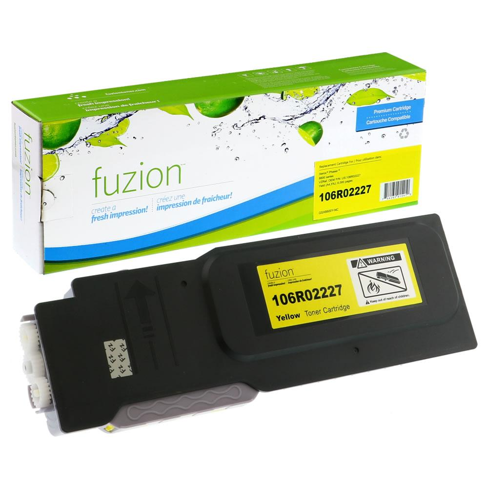 FUZION - Xerox Phaser 6600 High Yield - Yellow