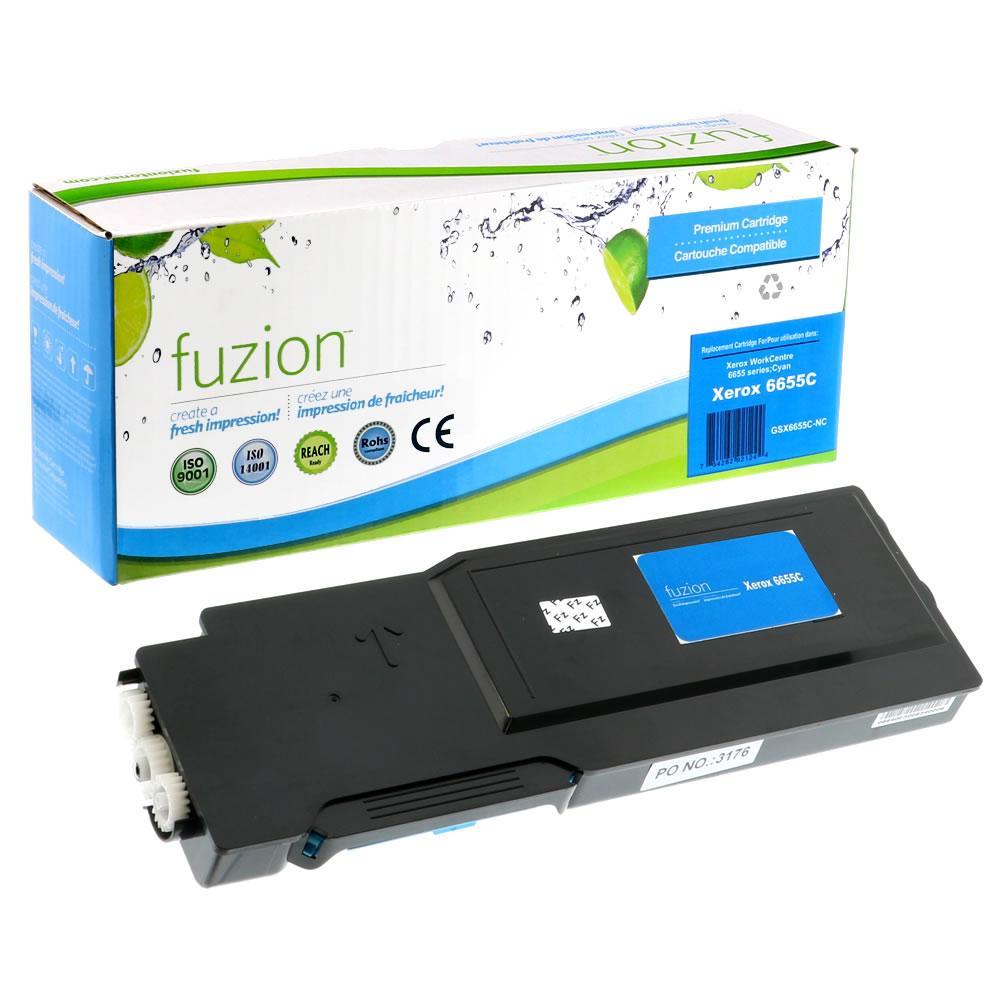 FUZION - Xerox 106R02744 High Yield - Cyan