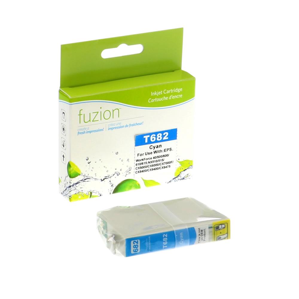 FUZION - Epson T068220 High Yield Inkjet - Cyan