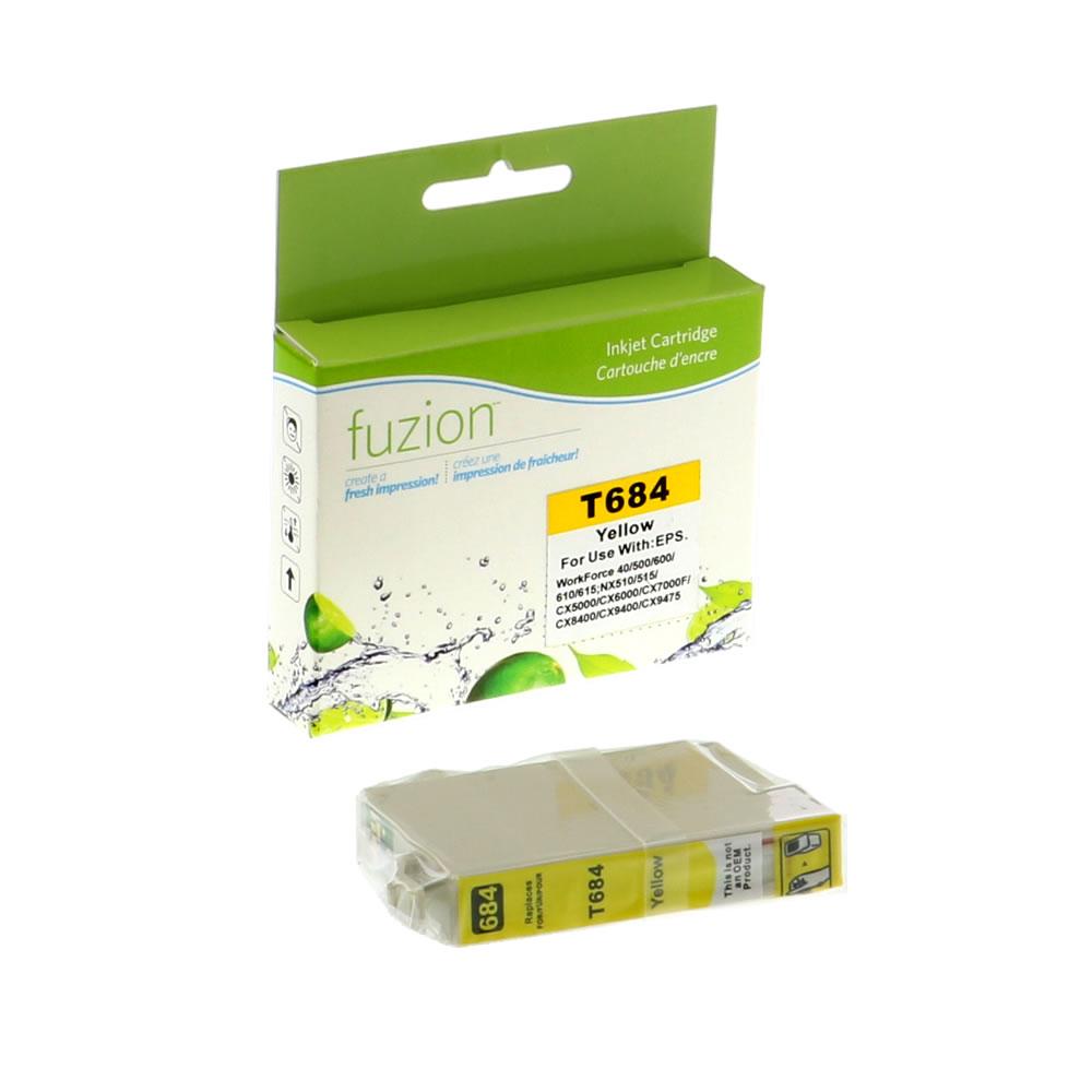 FUZION - Epson T068420 High Yield Inkjet - Yellow