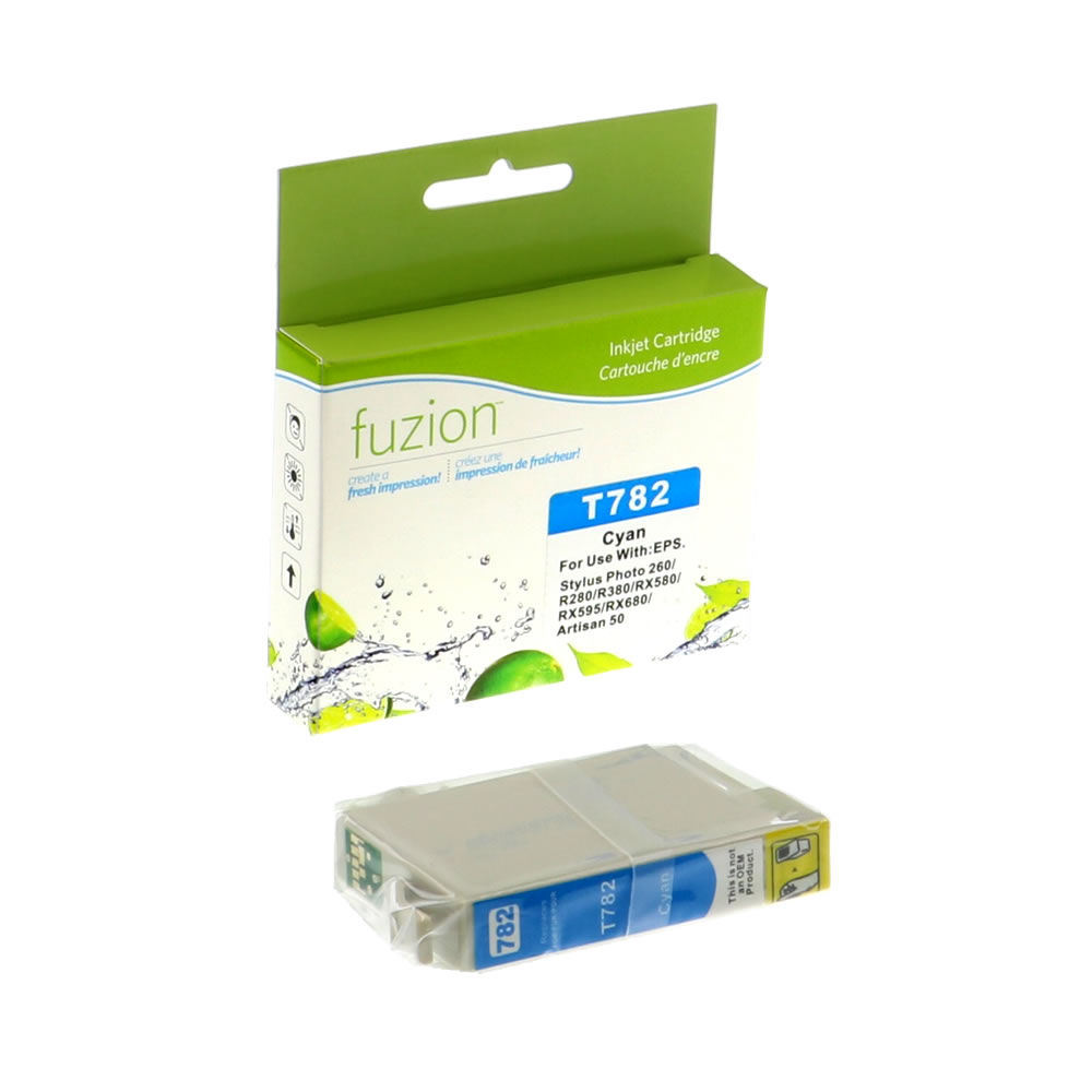 FUZION - Epson T078220 Inkjet - Cyan
