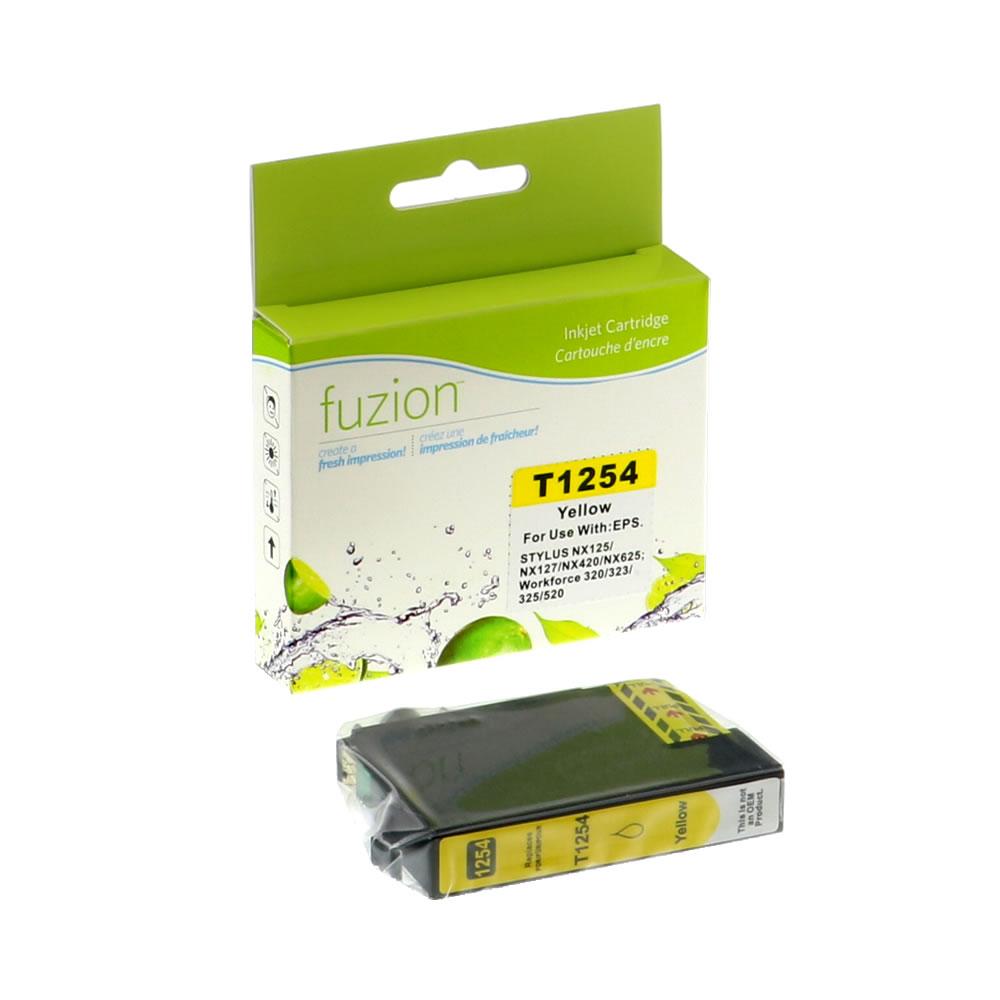 FUZION - Epson T125420 Inkjet - Yellow