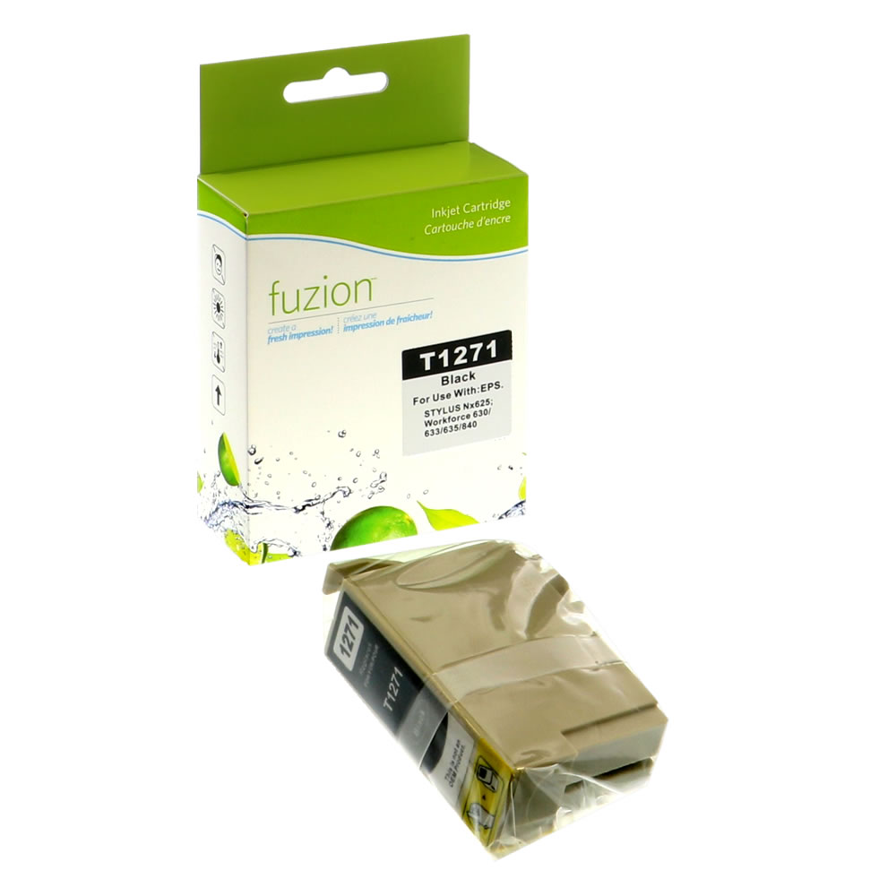 FUZION - Epson T127120 Inkjet - Extra HY Black