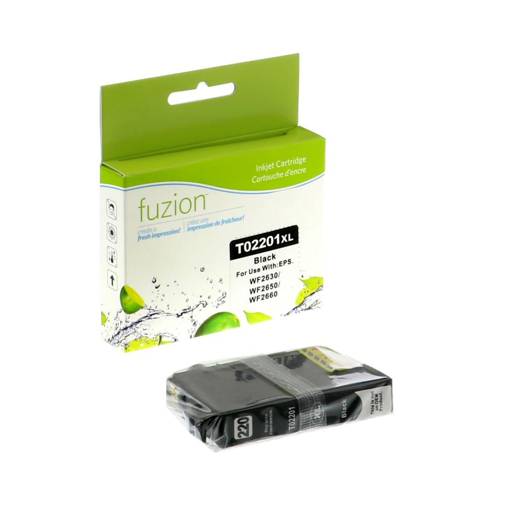 FUZION - Epson T220XL120 Inkjet - HY Black